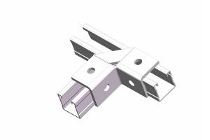 L4 90°弯角连接件